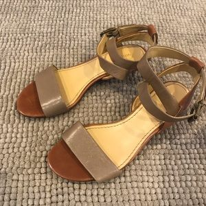 Nine  west  low heel wedge sandals (7)